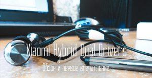 обзор xiaomi hybrid dual drivers